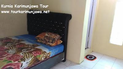 fasilitas kamar tidur di gemilang homestay