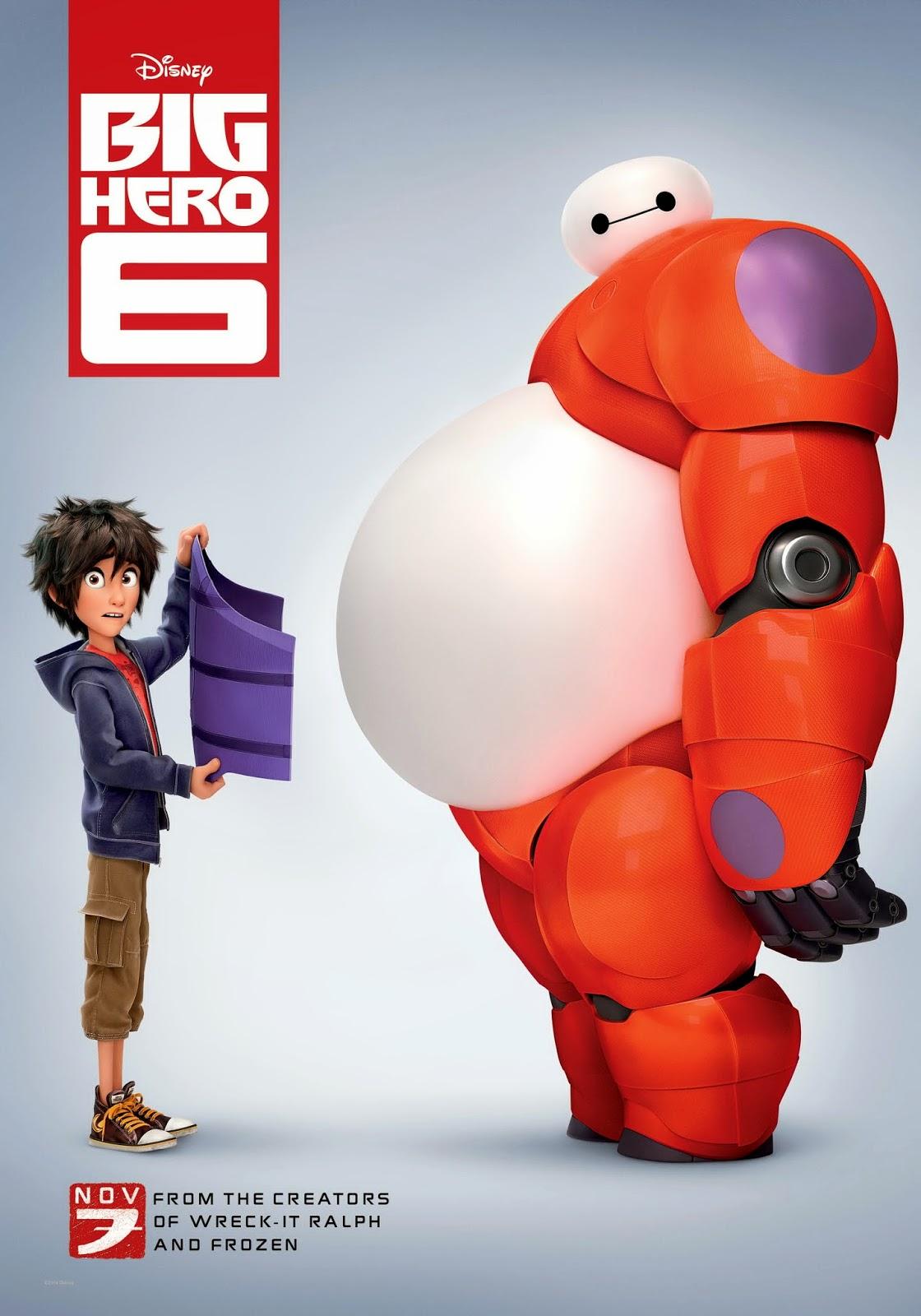 Big Hero 6 / Οι Υπερέξι 2014 ταινιες online seires oipeirates greek subs