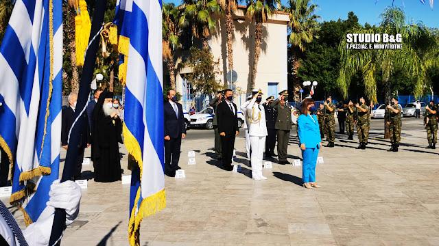 Η Πρόεδρος της Δημοκρατίας τίμησε τον Ι. Καποδίστρια στο Ναύπλιο (βίντεο)