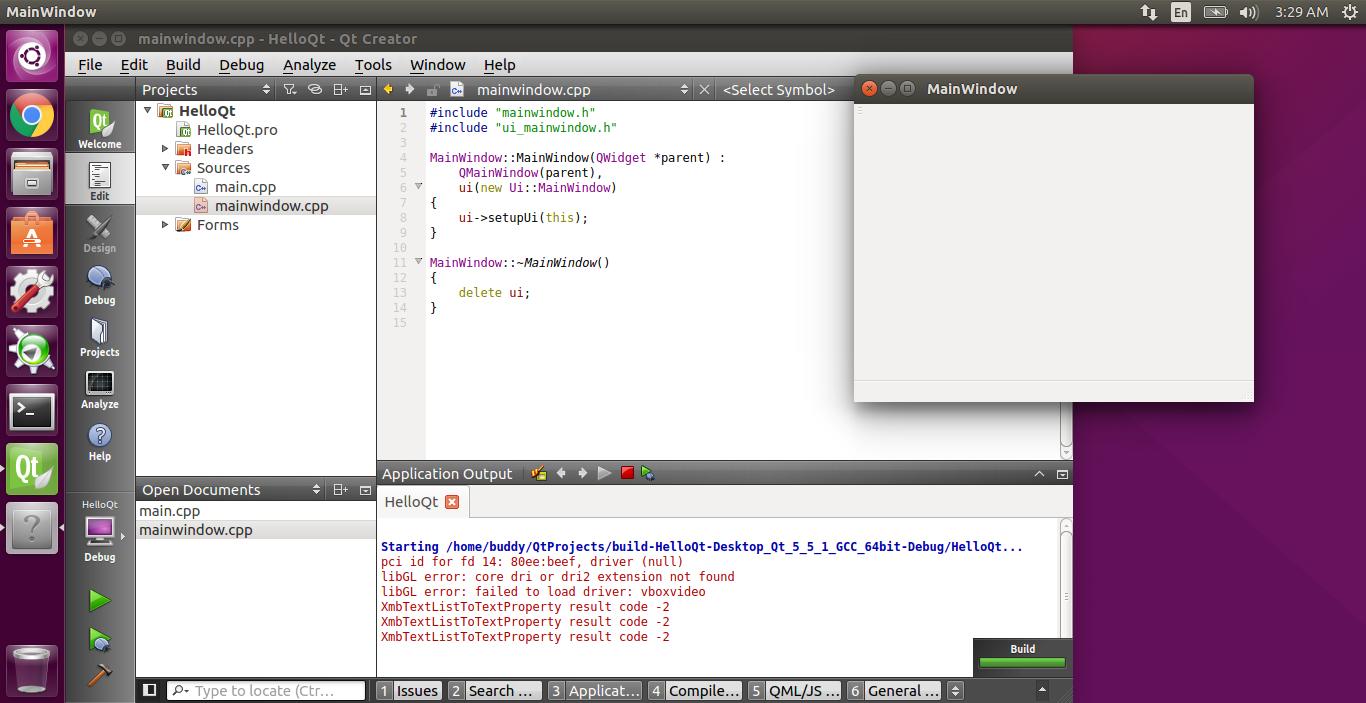Linux-Buddy: Install Qt/Qt Creator on Ubuntu 15 10