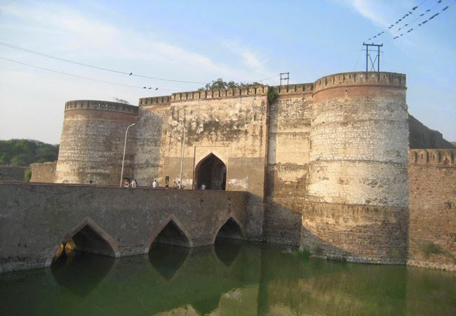 Lohagarh Fort in Bharatpur in Rajasthan
