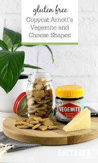Copycat Gluten Free Arnott's Vegemite and Cheese Shapes Recipe