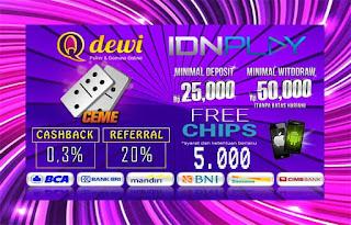 Rahasia Menang Judi Ceme Online Server IDN Play QDewi.net