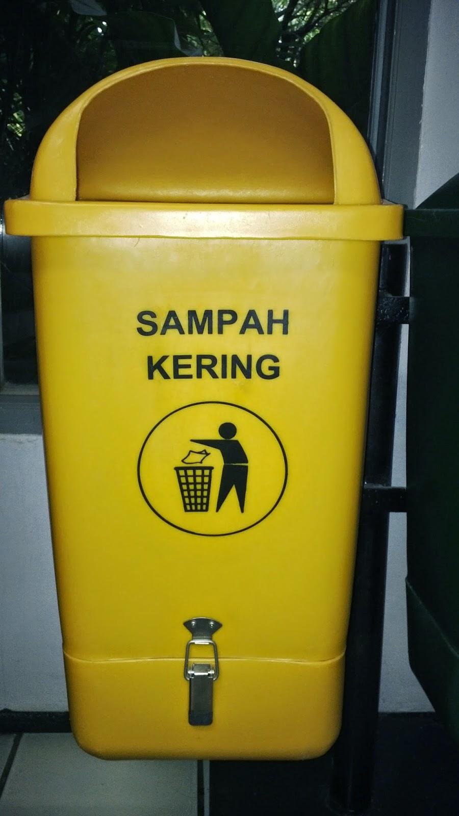 tong sampah bahan HDPE