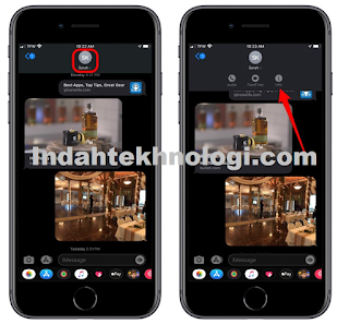 Cara Berbagi Lokasi di iphone Melalui iMessage [share and Send location on iphone]