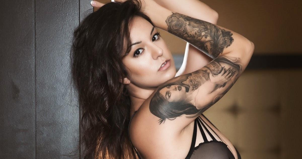BILLIE: Tattoo inked girl model stephanie marazzo artist javier eastman