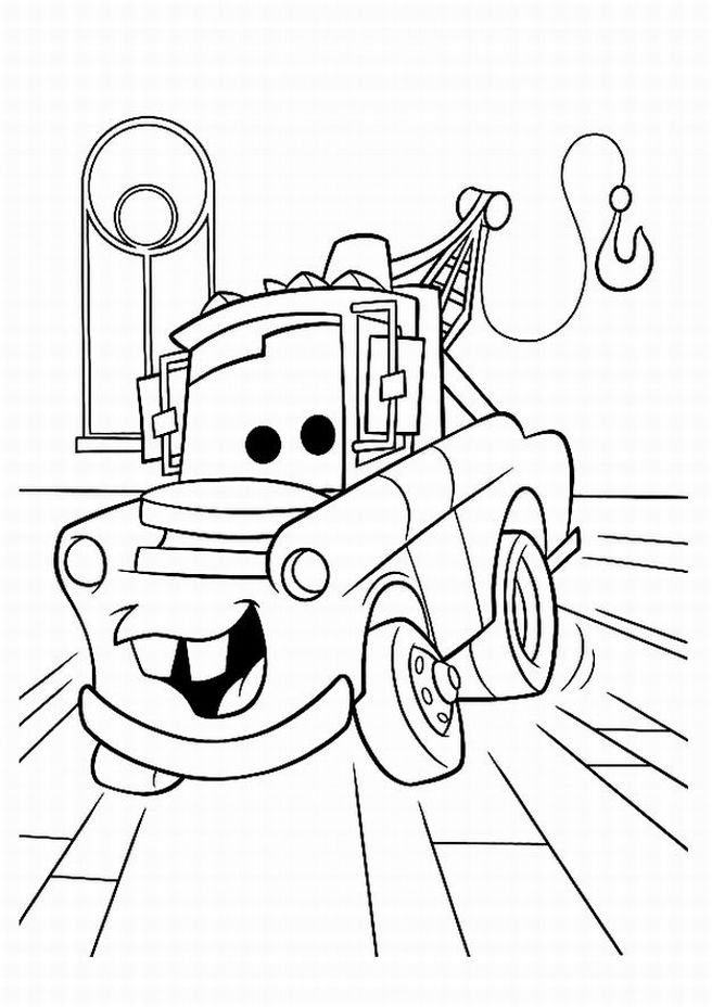 Disney cars coloring pages free ~ Disney Cars Coloring Pages For Kids >> Disney Coloring Pages