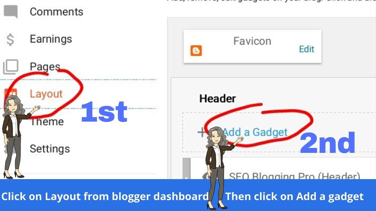 Add Statistic Pages in Blog