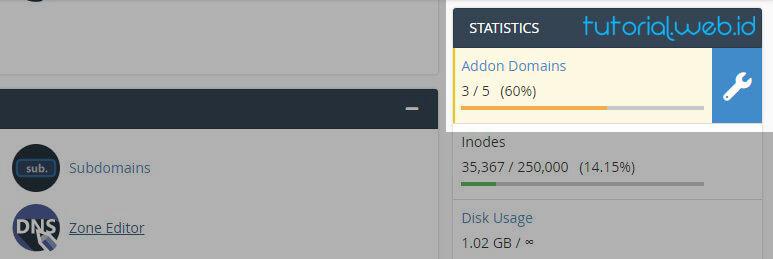 Contoh Addon Domains Pada Cpanel - tutorial.web.id.jpg