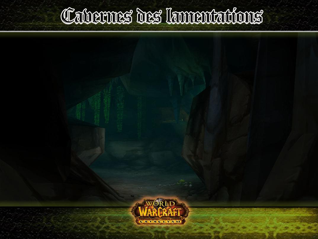 Pierre de rencontre caverne des lamentations wow