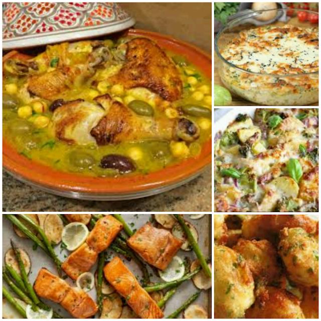 وصفات سهلة وسريعة للغذاء الجزء 2