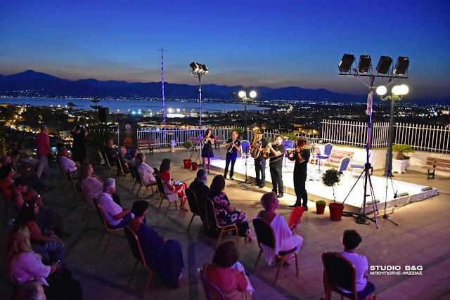 Με το σύνολο χάλκινων πνευστών Melos Brass στην Ευαγγελίστρια συνεχίστηκε το 29ο Μουσικό Φεστιβάλ Ναυπλίου