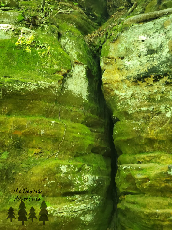Rock walls at Blackhand Gorge