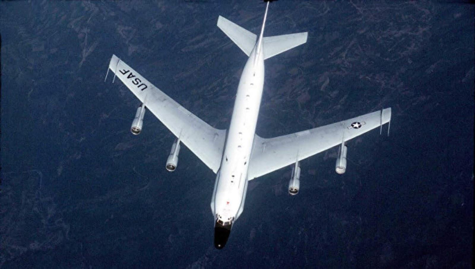 Pesawat pengintai Amerika melihat dekat perbatasan wilayah Kaliningrad