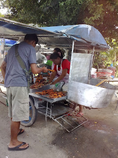 Fried or Barbecued Chicken on the Street, Phuket | Thai Food