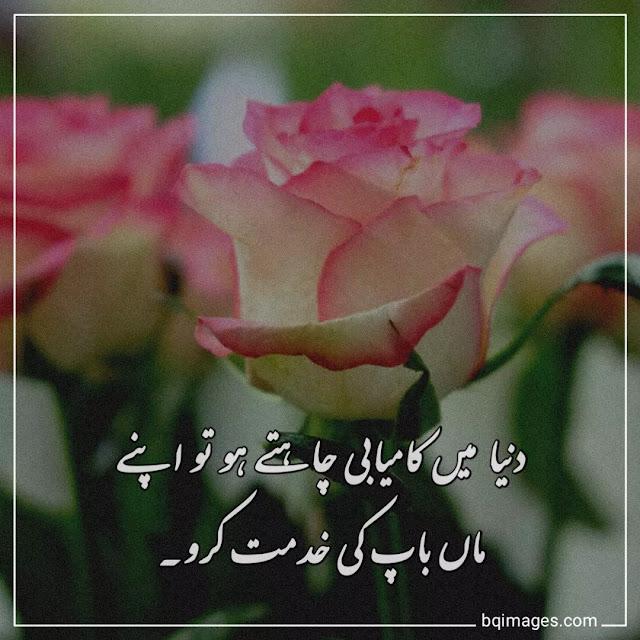 parents respect quotes in urdu