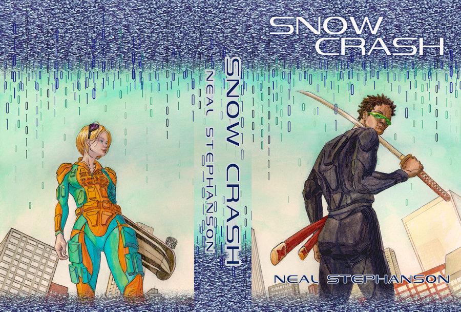 Snow Crash , Neal Stephenson, Book, Science Fiction
