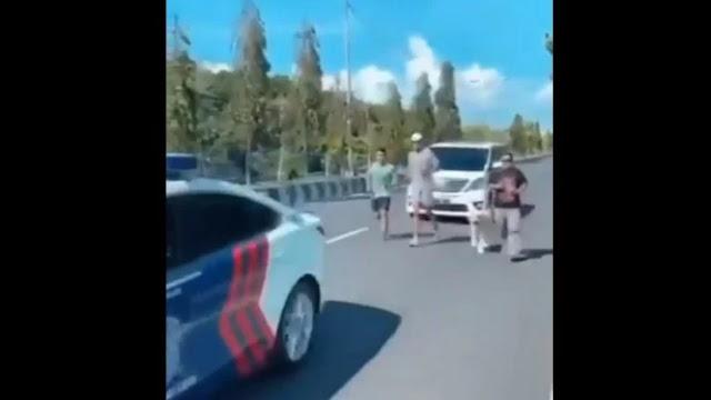 Oknum Polisi Pengawal Pria Jogging Diperiksa Propam