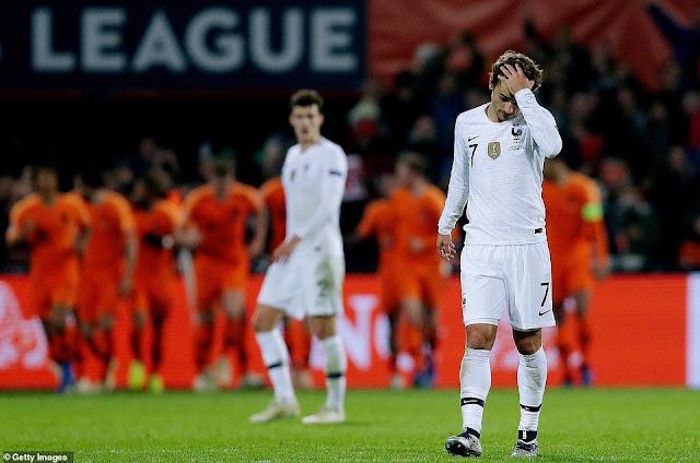 Hà Lan thắng sốc Pháp, Đức chính thức xuống hạng 2