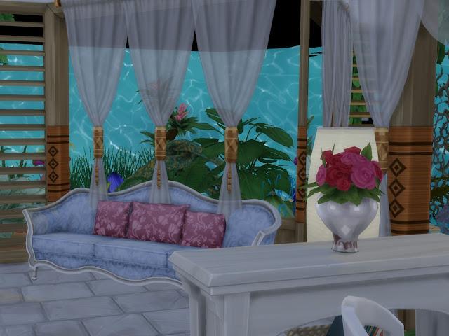 """""""Обитель русалки"""" - подводный дом для Sims 4 со ссылкой для скачивания"""