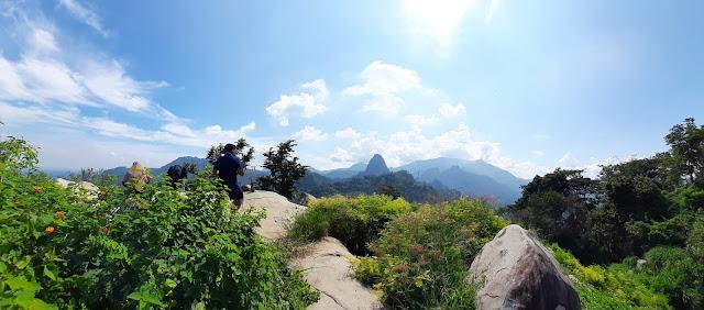 Lanscape Gunung Kandaga Bogor