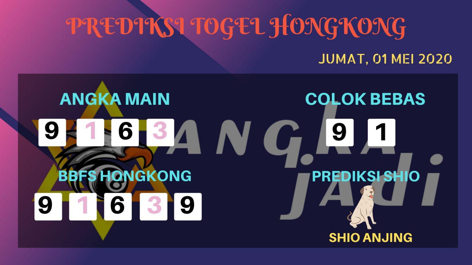 Prediksi HK 01 Mei 2020 - Prediksi Angka HK