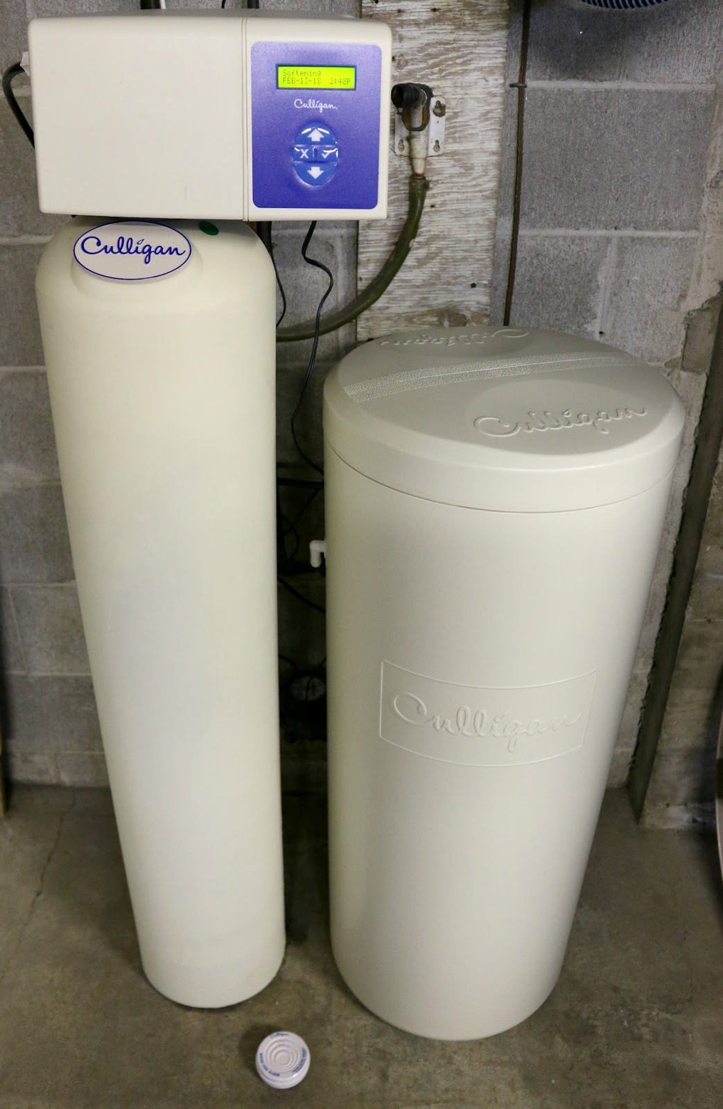 culligan high efficiency water softener
