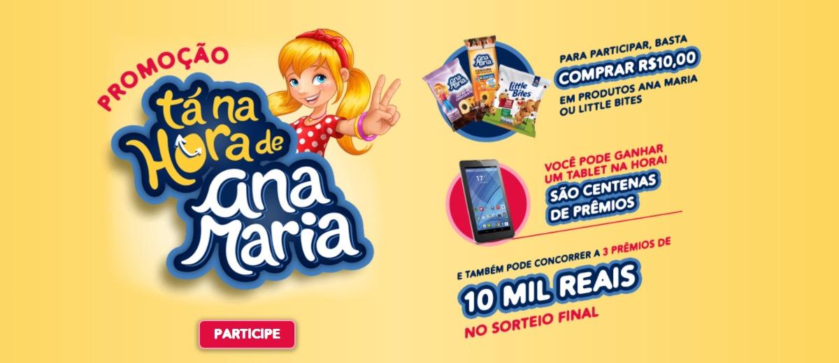 Tá na Hora de Ana Maria Promoção 2020 - Little Bites
