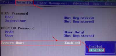 Cara Pengaturan BIOS Toshiba Satellite Saat Install OS
