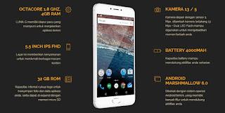 Pilihan Rekomendasi Hape Ram 4GB Harga Dua Jutaan