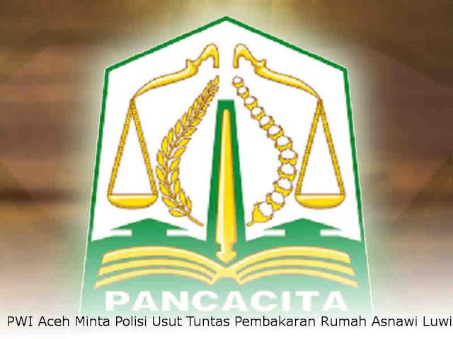 PWI Aceh Minta Polisi Usut Tuntas Pembakaran Rumah Asnawi Luwi