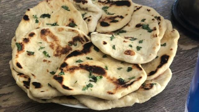 وصفة خبز نان بالثوم / Garlic Naan recipe