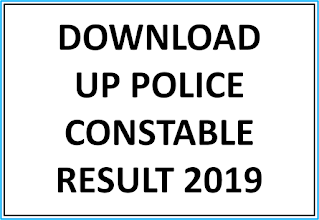 Download UP Police Constable result 2019