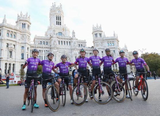 El  Burgos - BH consiguió en la Vuelta a España 5 premios a la combatividad