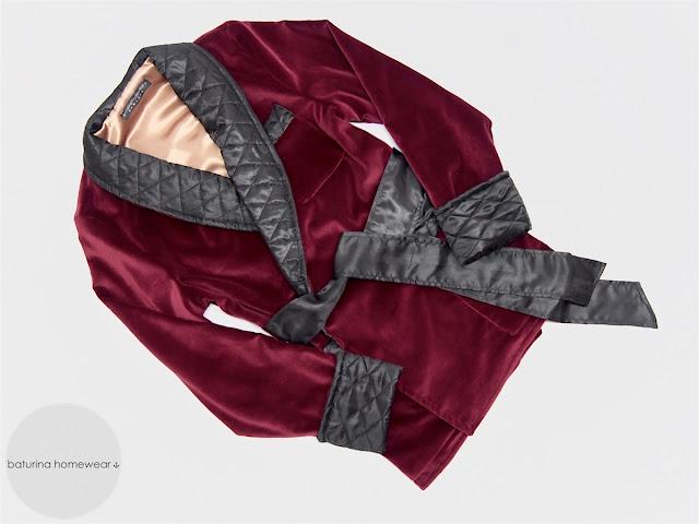 mens smoking jacket burgundy cotton velvet dark red quilted silk luxury robe warm heavy mens smoker robes english gentleman traditional style elegant