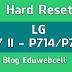Hard Reset Lg L7 II - P714/P716