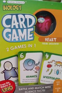 basher biology card game
