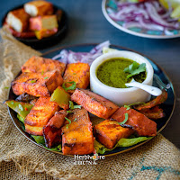 Vegan Tandoori Tofu Tikka