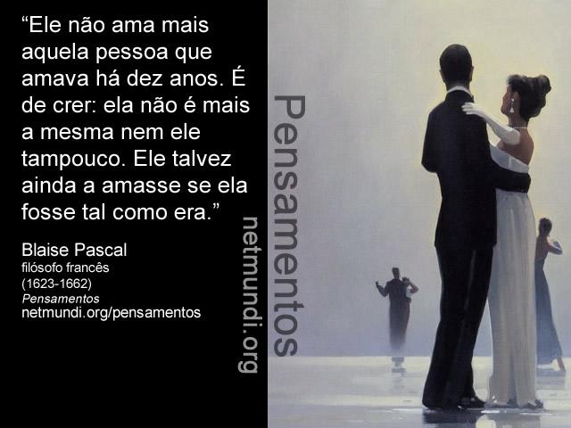 Blaise Pascal O Caniço Pensante 8 Imagens Frases