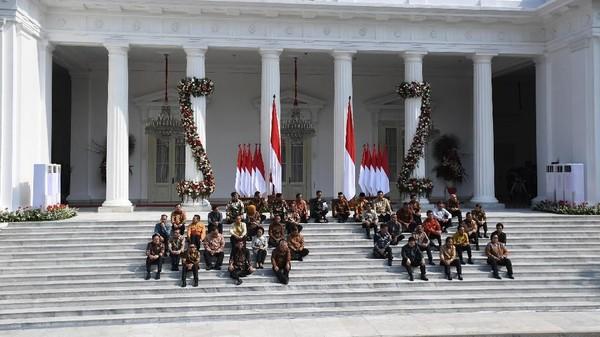 Reshuffle: 6 Menteri dan 1 Kepala Badan Bakal Diganti