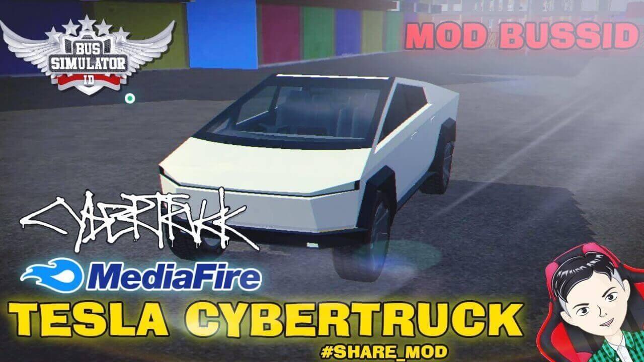 Mods Bussid Tesla Cybertruck