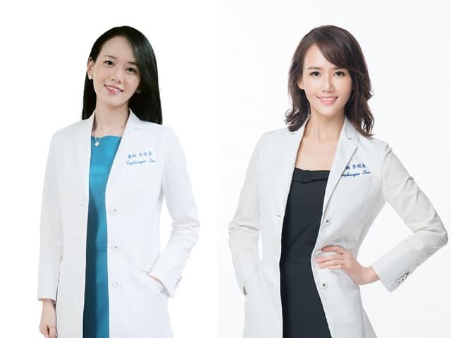 女醫師形象照before/after