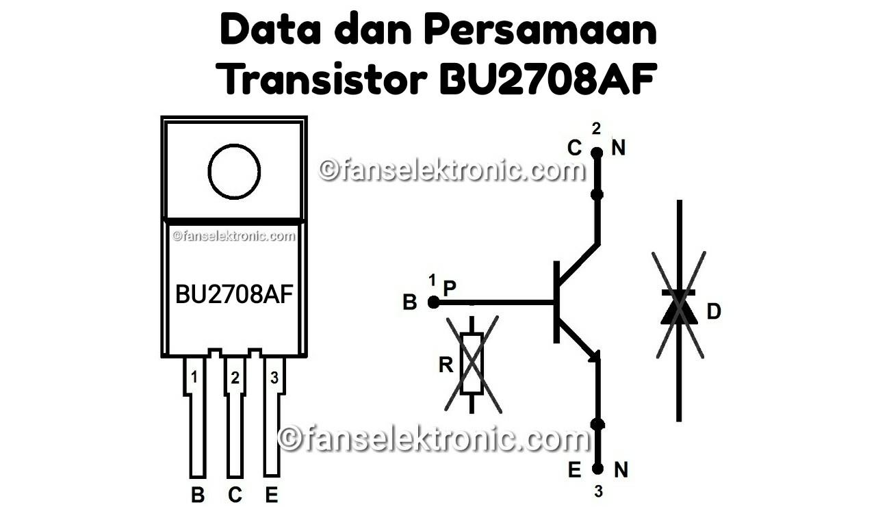 Persamaan Transistor BU2708AF