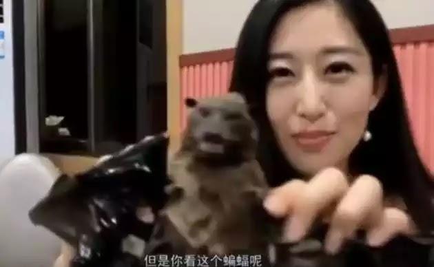 Κοροναϊός: Κινέζες μας δείχνουν πώς τρώνε τη νυχτερίδα (βίντεο)