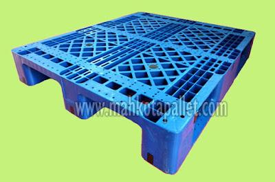 Jual Pallet Plastik ES 1210 Bahan HDPE Bisa Racking Harga Murah