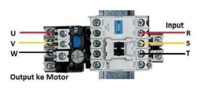 Penyambungan TOR pada Kontaktor Magnet
