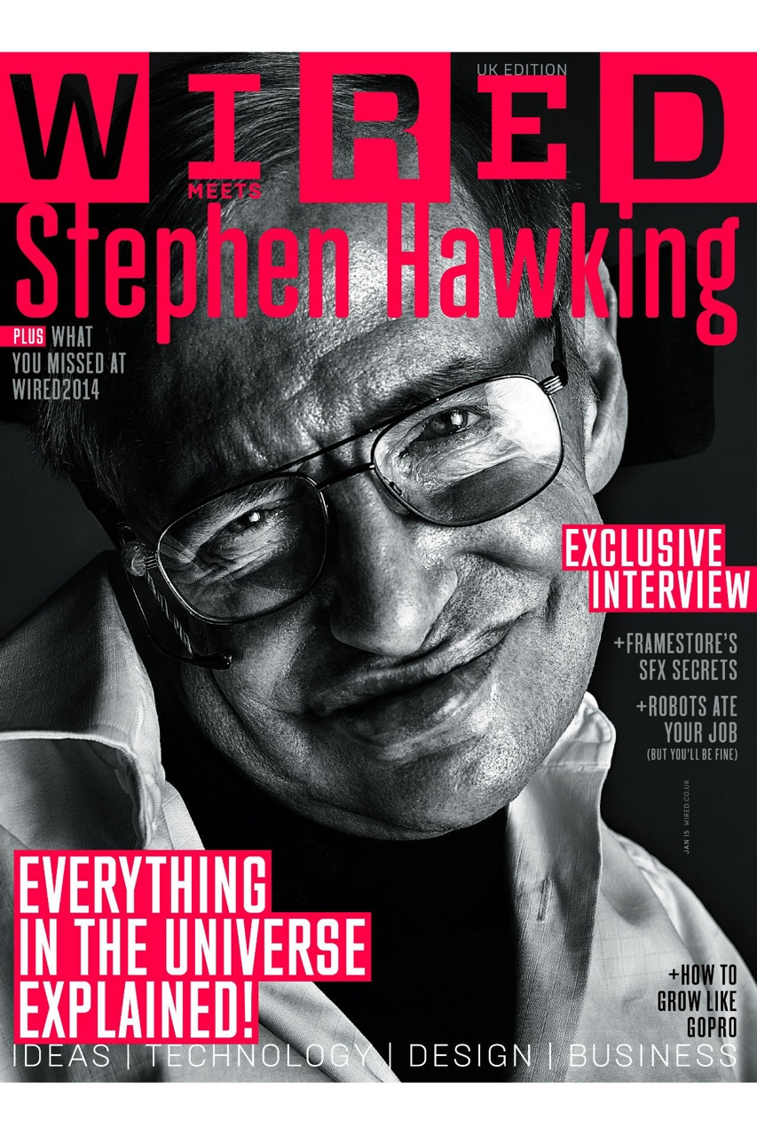 Addicted to Eddie: Wired screening with Eddie and Stephen Hawking on ...