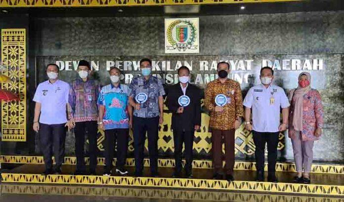 Ketua DPRD Provinsi Lampung Mingrum Gumay Terima Kunjungan Kerja Kepala BNN