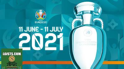 European Football Championship lineups
