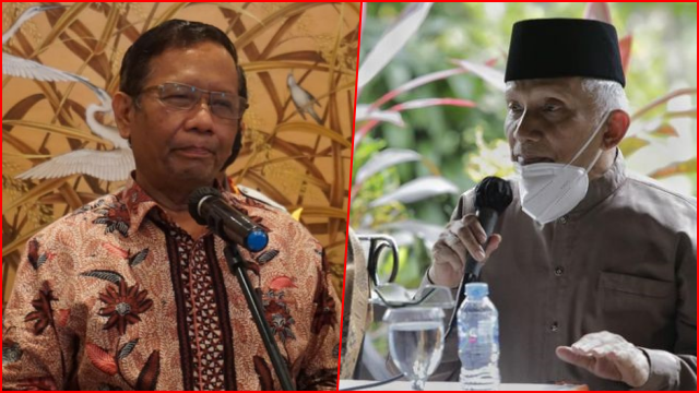 Amien Rais: Mahfud Sudah Berubah, Sekarang jadi The Wrong Man For The Wrong Job